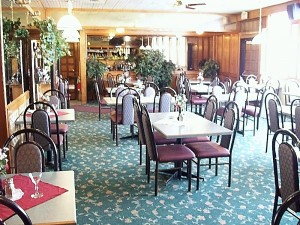 Northern Motor Inn hotel Hide-Away dining room meetings Terrace BC Thornhill