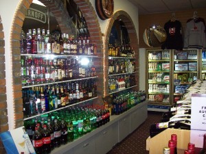 Liquor store beer & wine Terrace BC Northern Motor Inn Thornhill
