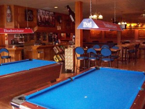 Northern Motor Inn hotel Terrace BC Thornhill sports bar George's Pub pool tournaments